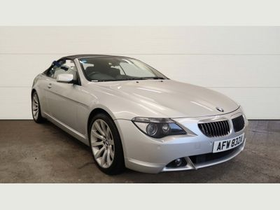 BMW 6 Series Convertible 4.8 650i V8 Sport 2dr