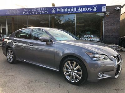 Lexus GS 300 Saloon 2.5 h V6 Luxury E-CVT 4dr