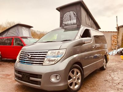 Nissan ELGRAND POP TOP 4 BERTH NEW SIDE CONVERSION Campervan LPG