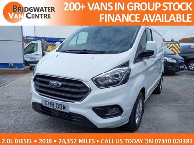 Ford Transit Custom Panel Van 2.0 TDCi 300 L1H1 Limited FWD 5dr