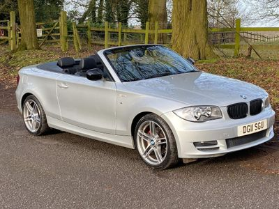 BMW 1 Series Convertible 2.0 120d Sport 2dr