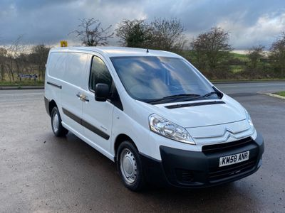 Citroen Dispatch Panel Van 2.0 HDi 1200 LX L2H1 Panel Van 5dr