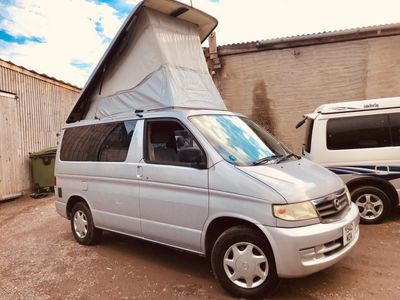 Mazda BONGO AFT 4 BERTH FULL SIDE CAMPER CONVERSION Campervan LOW MILEAGE 44K