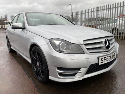 Mercedes-Benz C Class Saloon 2.1 C220 CDI AMG Sport Plus 7G-Tronic Plus 4dr
