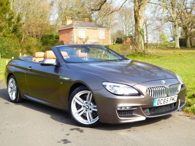 BMW 6 Series Convertible 4.4 650i V8 M Sport Auto (s/s) 2dr