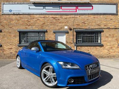 Audi TTS Convertible 2.0 TFSI Roadster S Tronic quattro 2dr