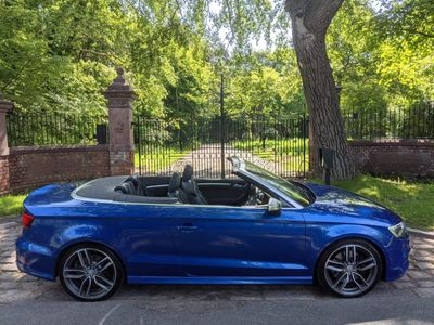 Audi S3 Convertible 2.0 TFSI Cabriolet S Tronic quattro 2dr (Nav)