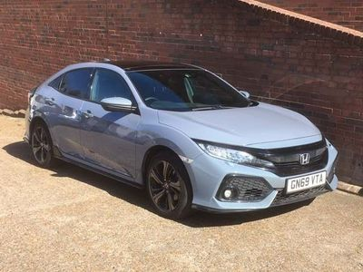 Honda Civic Hatchback 1.5 VTEC Turbo GPF Sport Plus CVT (s/s) 5dr