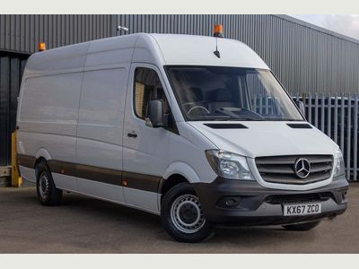 Mercedes-Benz Sprinter Panel Van 2.1 CDI 314 Extra High Roof Panel Van 5dr (EU6, XLWB)