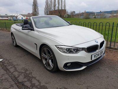 BMW 4 Series Convertible 2.0 420d Sport 2dr