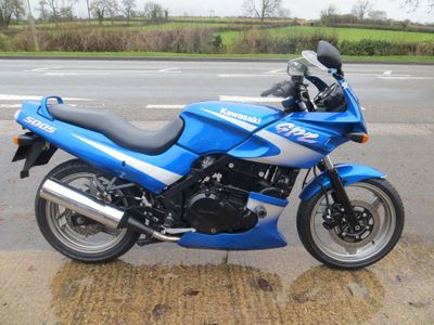 Kawasaki GPZ500S Sports Tourer 500 D7