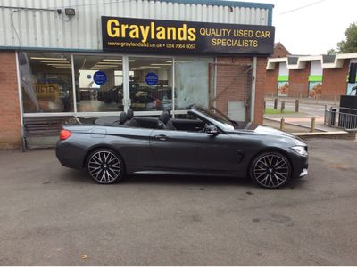 BMW 4 Series Convertible 3.0 435d M Sport Auto xDrive 2dr