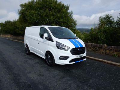 Ford Transit Custom Panel Van 2.0 290 EcoBlue Sport Auto L1 H1 EU6 (s/s) 5dr