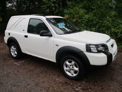 LAND ROVER FREELANDER Panel Van TD4 COMMERCIAL