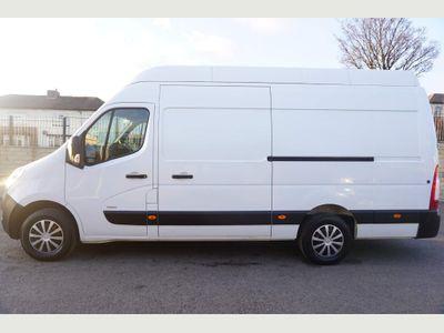 Vauxhall Movano Panel Van 2.3 CDTi 3500 RWD L3 H3 LWB HIGH ROOF