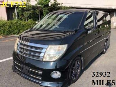 Nissan Elgrand MPV Highway Star UK satnav camera p door