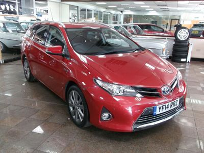 Toyota Auris Estate 1.8 VVT-h Excel Touring Sports e-CVT HSD 5dr