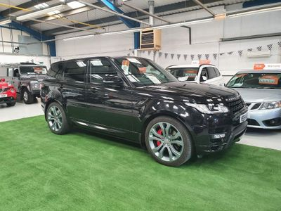 Land Rover Range Rover Sport SUV 5.0 V8 Autobiography Dynamic Auto 4WD (s/s) 5dr