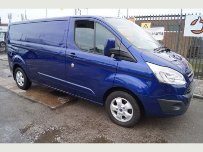 Ford Transit Custom Panel Van 2.0TDCi 130 290 LIMITED L2 LWB VAN EURO6