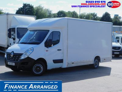 Renault Master Luton SOLD SOLD SOLD