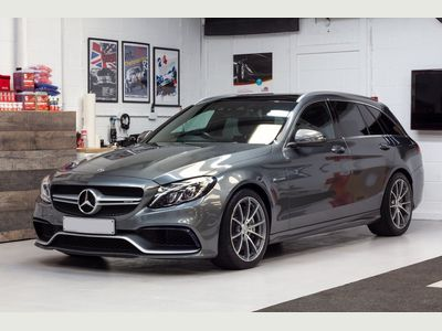 Mercedes-Benz C Class Estate 4.0 C63 V8 BiTurbo AMG (Premium) SpdS MCT (s/s) 5dr
