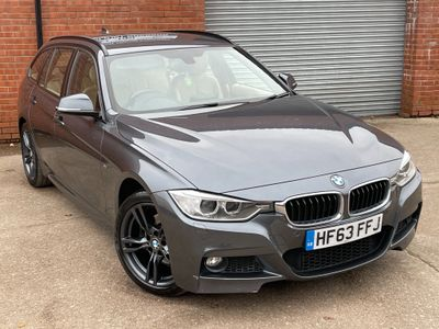 BMW 3 Series Estate 3.0 330d BluePerformance M Sport Touring Sport Auto xDrive (s/s) 5dr