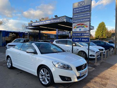 Volvo C70 Convertible 2.0 D3 SE Lux Geartronic 2dr