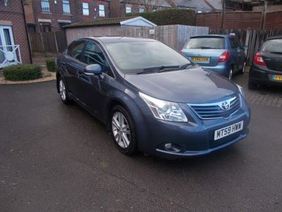 Toyota Avensis Saloon 1.8 V-Matic T4 M-Drive S 4dr