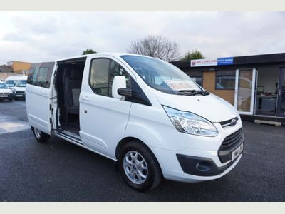 Ford Transit Custom Combi Van 2.2 TDCi 290 LWB LTD Double Cab-in-Van