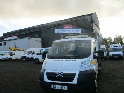 CITROEN RELAY Tipper 2.2 HDI L3 C/CAB CAGED TIPPER EURO 6