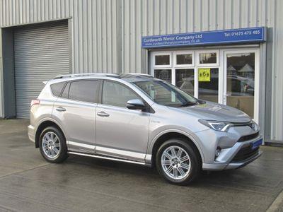 Toyota RAV4 SUV 2.5 VVT-h Excel CVT 4WD (s/s) 5dr (Safety Sense, Nav)