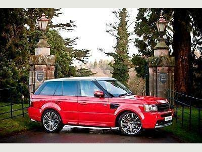 Land Rover Range Rover Sport SUV 2.7 TDV6 5DR AUTO EXCLUSIVE RED EDITION