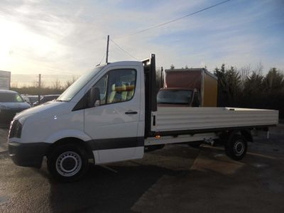 Volkswagen Crafter Dropside 2.0 TDI CR35 Chassis Cab 2dr (LWB)