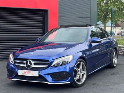 Mercedes-Benz C Class Saloon 2.1 C220d AMG Line (Premium) G-Tronic+ (s/s) 4dr
