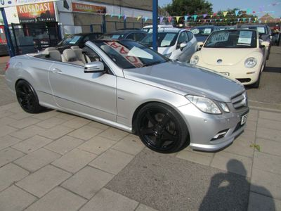 Mercedes-Benz E Class Convertible 2.1 E220 CDI BlueEFFICIENCY Sport Cabriolet 2dr