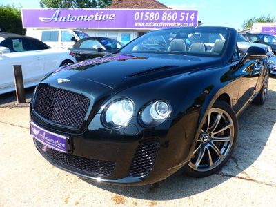 Bentley Continental Convertible 6.0 GT Supersports 2dr