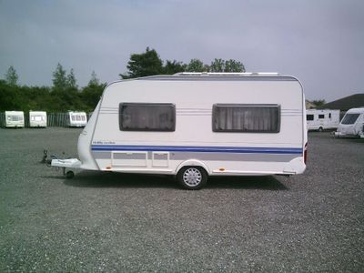 Hobby Excellent Tourer 2007 4 BERTH FIXED BED
