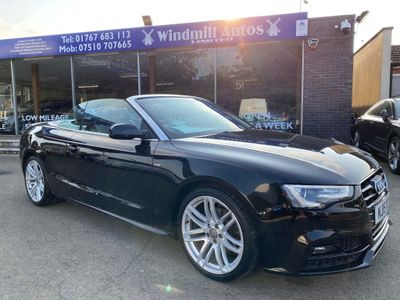 Audi A5 Cabriolet Convertible 2.0 TDI S line Special Edition Plus Cabriolet 2dr