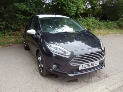 Ford Fiesta Hatchback 1.25 Zetec Black Edition 5dr