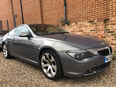 BMW 6 Series Coupe 3.0 630Ci 2dr