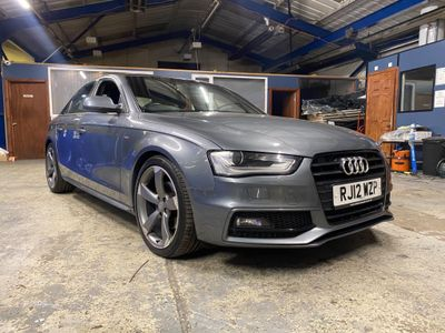 Audi A4 Saloon 2.0 TDI Black Edition Multitronic 4dr