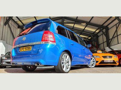 Vauxhall Zafira MPV 2.0 i Turbo 16v VXR 5dr