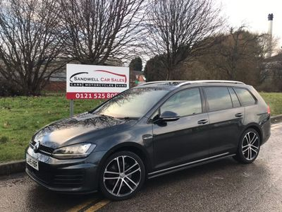 Volkswagen Golf Estate 2.0 TDI BlueMotion Tech GTD (s/s) 5dr