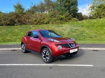 Nissan Juke SUV 1.6 n-tec CVT 5dr