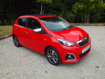 Peugeot 108 Convertible 1.2 PureTech Allure Top! 5dr