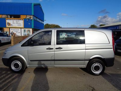 Mercedes-Benz Vito Unlisted 2.1 109CDI Compact Panel Van SWB 5dr