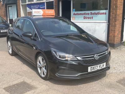 Vauxhall Astra Hatchback 1.6 CDTi BlueInjection SRi VX Line (s/s) 5dr