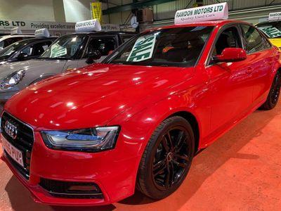 Audi A4 Saloon 2.0 TDI S line quattro 4dr (Nav)