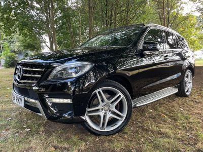 Mercedes-Benz M Class SUV 3.0 ML350 CDI BlueTEC AMG Line (Premium) 7G-Tronic Plus 5dr