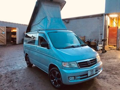 Mazda BONGO AFT 4 BERTH FULL SIDE CAMPER CONVERSION Unlisted 2 LITRE PETROL